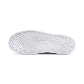 Thumbnail 4 of Smash Platform Leather Women's Sneakers, Puma White-Puma White-White, medium