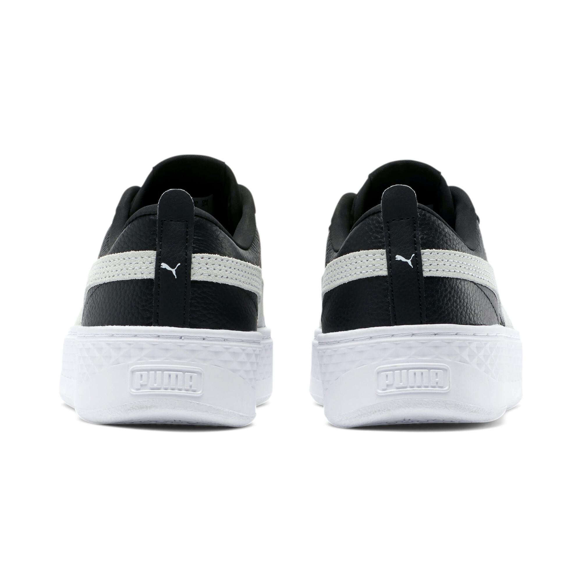 PUMA-Smash-Platform-Leather-Women-039-s-Sneakers-Women-Shoe-Basics thumbnail 18