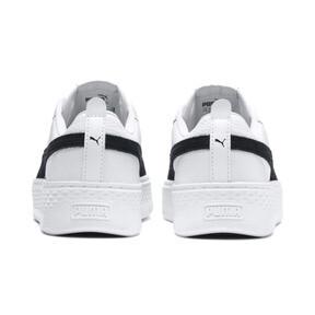Miniaturka 3 Damskie buty Puma Smash Platform, Puma White-Puma Black, średnie