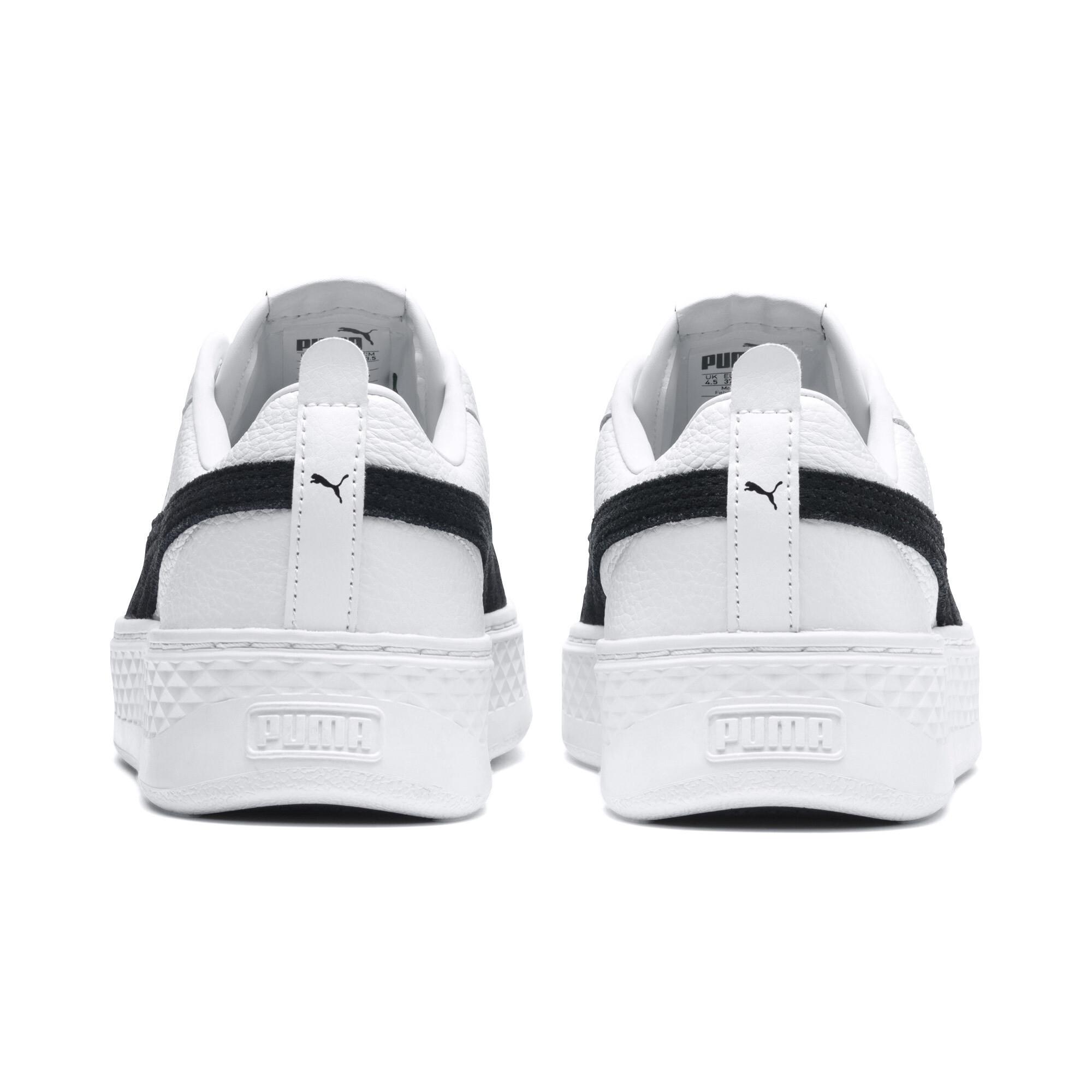 PUMA-Smash-Platform-Leather-Women-039-s-Sneakers-Women-Shoe-Basics thumbnail 13