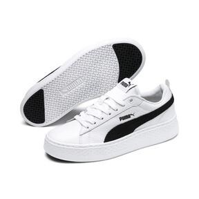 Miniaturka 2 Damskie buty Puma Smash Platform, Puma White-Puma Black, średnie
