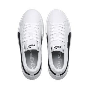 Miniaturka 6 Damskie buty Puma Smash Platform, Puma White-Puma Black, średnie