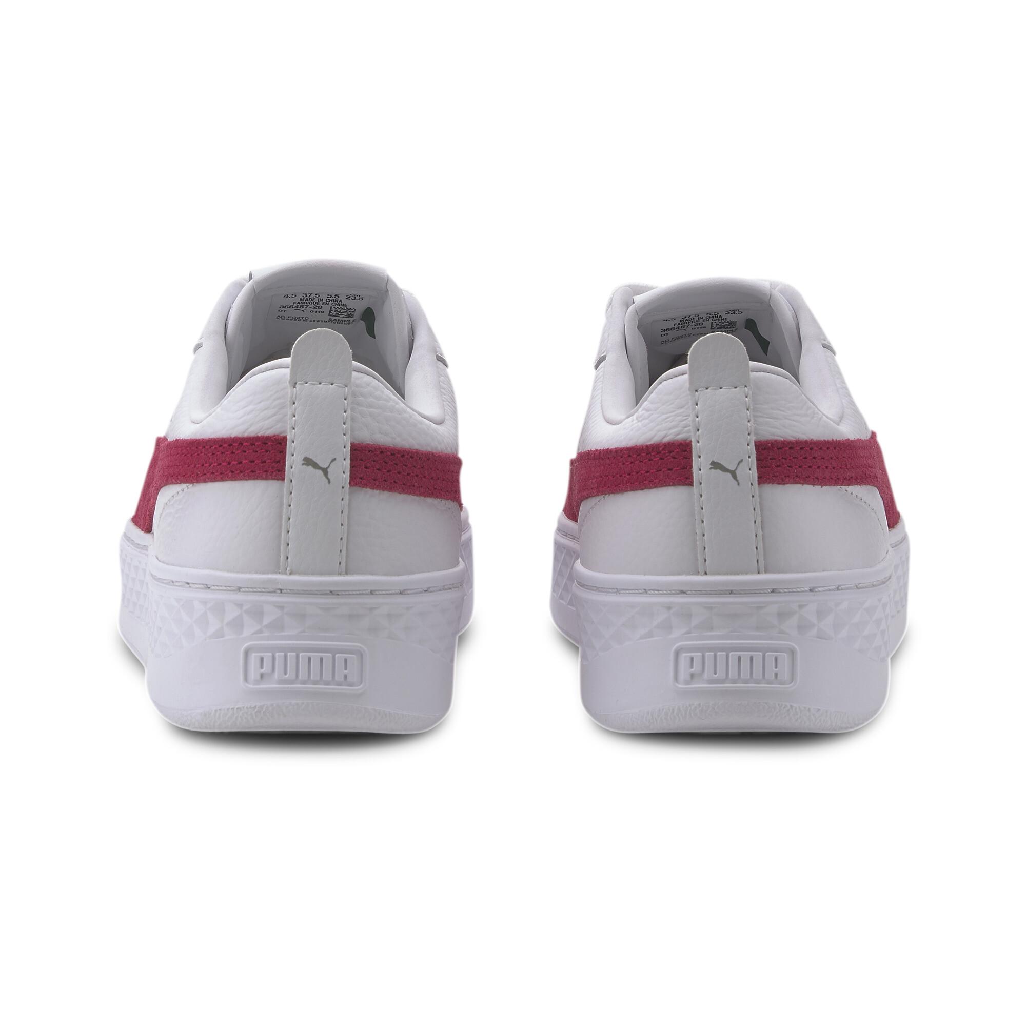 PUMA-Smash-Platform-Leather-Women-039-s-Sneakers-Women-Shoe-Basics thumbnail 8