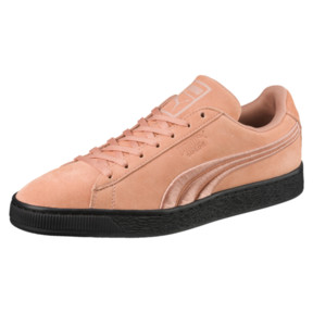 Thumbnail 1 of Suede Classic Badge Flip Sneakers, 01, medium
