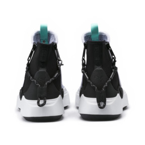 Thumbnail 4 of PUMA x DIAMOND Abyss Knit Sneakers, Puma White-Puma Black, medium