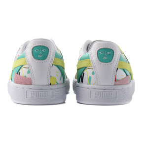 Thumbnail 4 of PUMA x SHANTELL MARTIN BASKET GRAPHIC, Puma White-Sunny Lime, medium-JPN