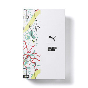 Thumbnail 6 of PUMA x SHANTELL MARTIN BASKET GRAPHIC, Puma White-Sunny Lime, medium-JPN