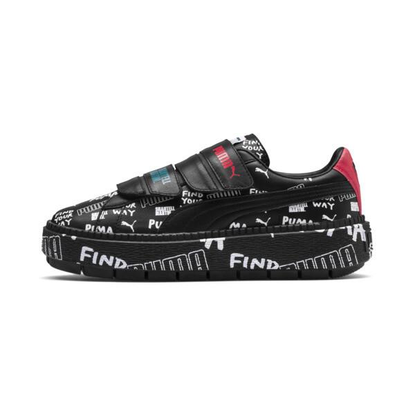 PUMA X SHANTELL Martin Basket Schuhe Graphic Damen Sneaker