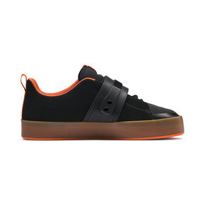 Thumbnail 5 of Basket PUMA x ATELIER NEW REGIME Court Platform Brace, Puma Black-Scarlet Ibis, medium