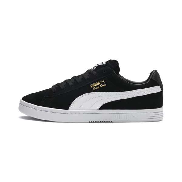 Court Star FS Trainers, Puma Black-Puma White, large