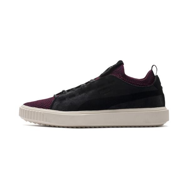 PUMA Breaker Knit Baroque Evolution Sneakers, Puma Black-Whisper White, large