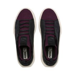 Thumbnail 6 of PUMA Breaker Knit Baroque Evolution Sneakers, Puma Black-Whisper White, medium