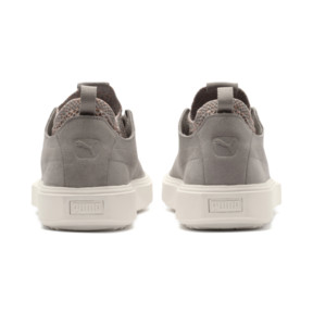 Thumbnail 4 of PUMA Breaker Knit Baroque Evolution Trainers, Elephant Skin-Whisper White, medium