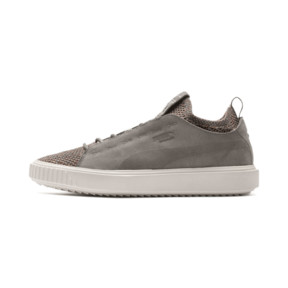 Thumbnail 1 of PUMA Breaker Knit Baroque Evolution Trainers, Elephant Skin-Whisper White, medium