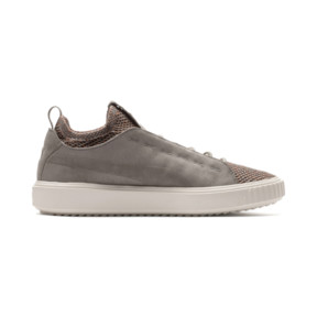 Thumbnail 5 of PUMA Breaker Knit Baroque Evolution Trainers, Elephant Skin-Whisper White, medium