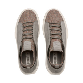 Thumbnail 6 of PUMA Breaker Knit Baroque Evolution Trainers, Elephant Skin-Whisper White, medium