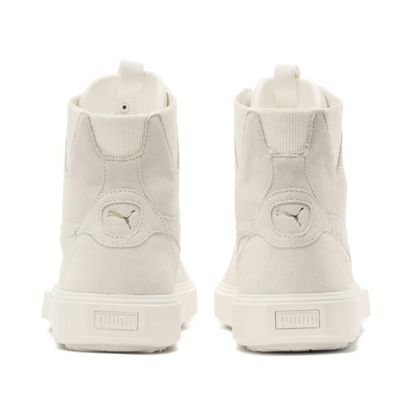 PUMA Breaker Hi Evolution Sneaker, Whisper White-Whisper White, large