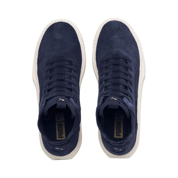 PUMA Breaker Hi Evolution Sneakers, Peacoat-Whisper White, large