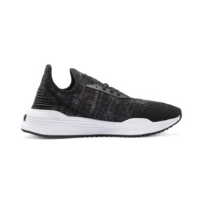 Thumbnail 5 of AVID evoKNIT Mosaic Evolution Sneakers, PBlack-IGate-GViolet, medium