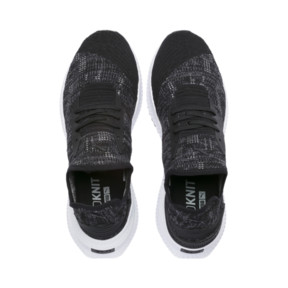 Thumbnail 6 of AVID evoKNIT Mosaic Evolution Sneakers, PBlack-IGate-GViolet, medium