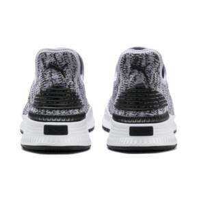 Thumbnail 4 of AVID evoKNIT Mosaic Evolution Sneaker, PWhite-PBlack-Sodalite Blue, medium