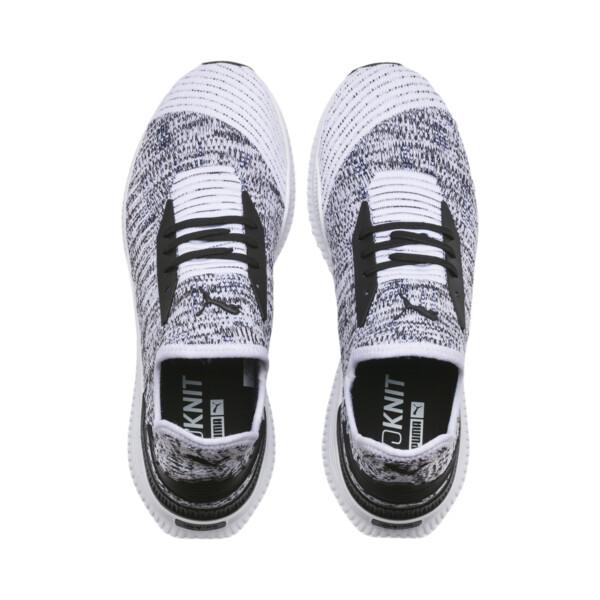AVID evoKNIT Mosaic Evolution Sneaker, PWhite-PBlack-Sodalite Blue, large