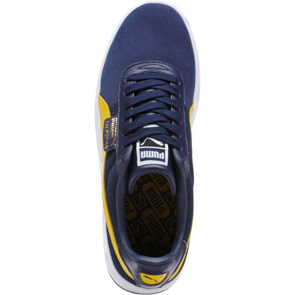 California Casual Sneakers, Peacoat-SpectraYellw-P Wht, large
