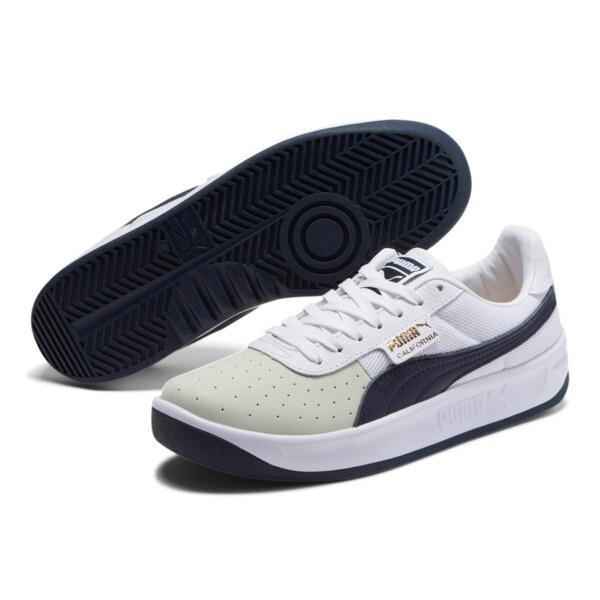 California Casual Sneakers, P White-Peacoat-P White, large