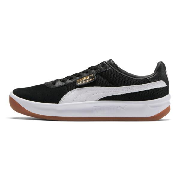 California Casual Sneakers, Puma Black-Puma White, large