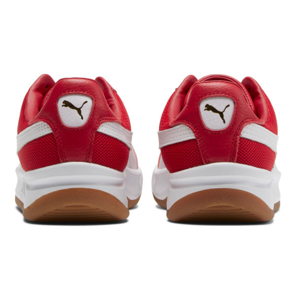 California Casual Sneakers, Ribbon Red-Puma White, large