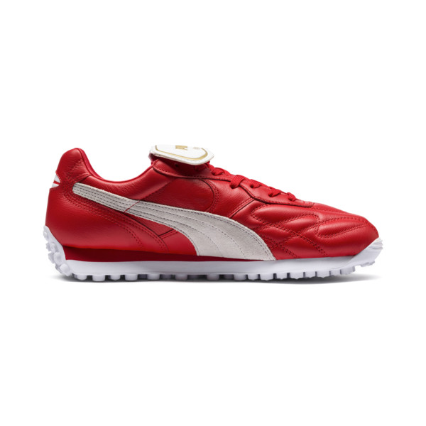 King Avanti Legends Pack Sneakers, Puma Red-Puma White, large