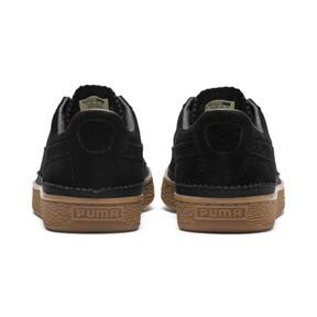 Thumbnail 4 of Suede Classic Brogue Men's Sneakers, Puma Black-Puma Black, medium