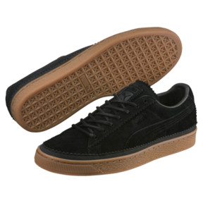 Thumbnail 2 of Suede Classic Brogue Men's Sneakers, Puma Black-Puma Black, medium