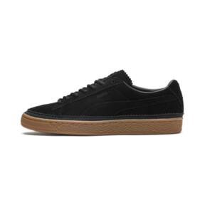 Thumbnail 1 of Suede Classic Brogue Men's Sneakers, Puma Black-Puma Black, medium