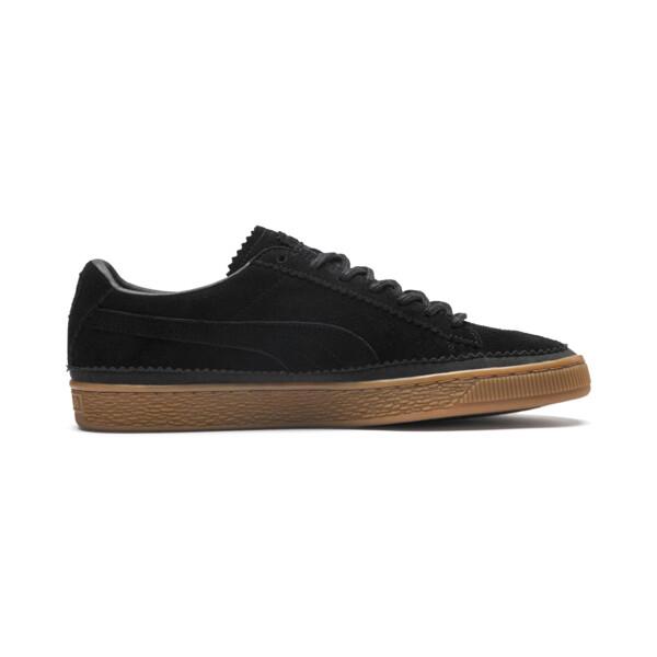 Suede Classic Brogue Men's Sneakers, Puma Black-Puma Black, large