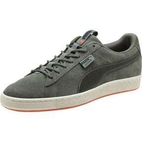 Thumbnail 1 of Suede Classic FOF, Laurel Wreath-Puma Black, medium