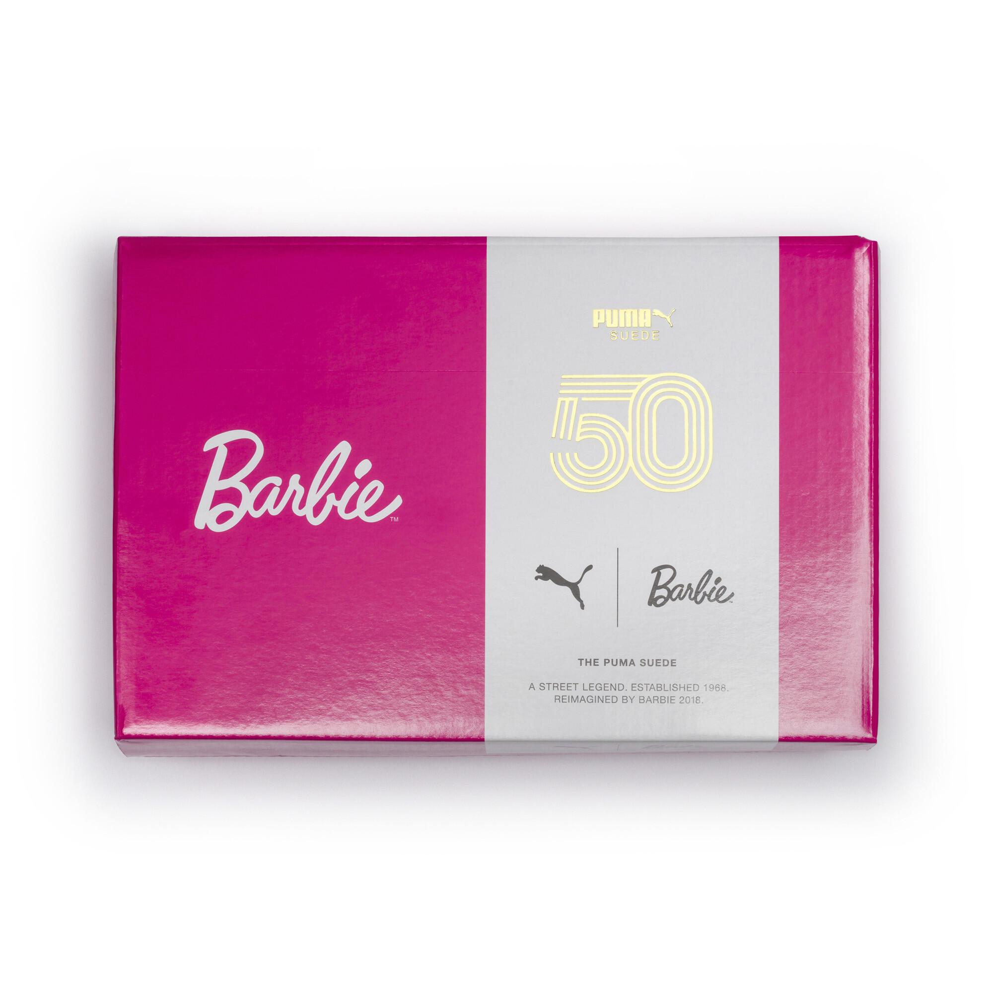 Image Puma PUMA x BARBIE Suede Classic Kids' Sneakers (No Doll) #6