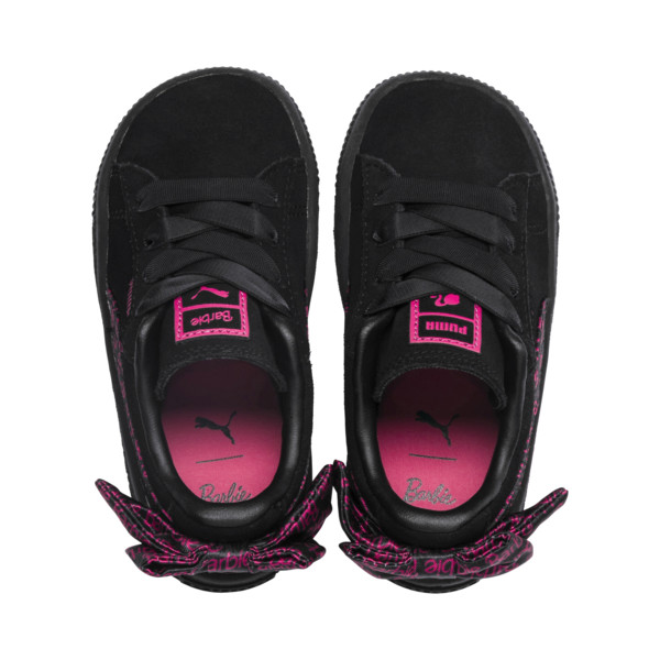 PUMA x BARBIE Suede Classic Kids' Trainers (No Doll), Puma Black, large