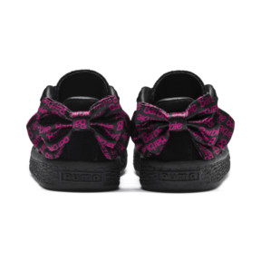 Thumbnail 4 of PUMA x BARBIE Suede Classic Babies' Trainers (No Doll), Puma Black, medium