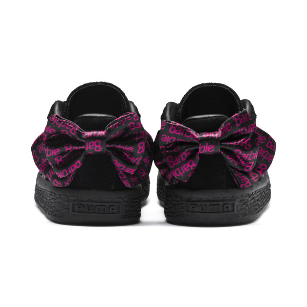 PUMA x BARBIE Suede Classic Babies' Trainers (No Doll), Puma Black, large