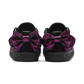 Thumbnail 4 of PUMA x BARBIE Suede Classic Infant Sneakers (No Doll), Puma Black, medium