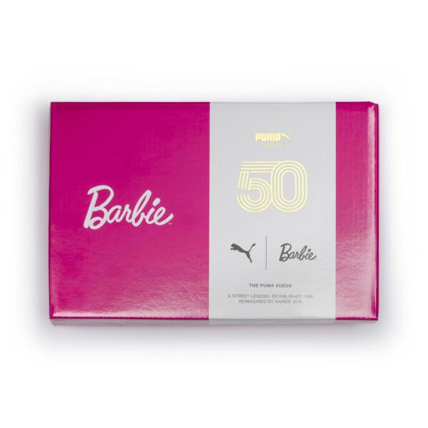 ベビー ガールズ PUMA x BARBIE NODOLL SUEDE CLASSIC (12-16cm), Puma Black, large-JPN