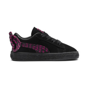 Thumbnail 5 of PUMA x BARBIE Suede Classic Babies' Trainers (No Doll), Puma Black, medium