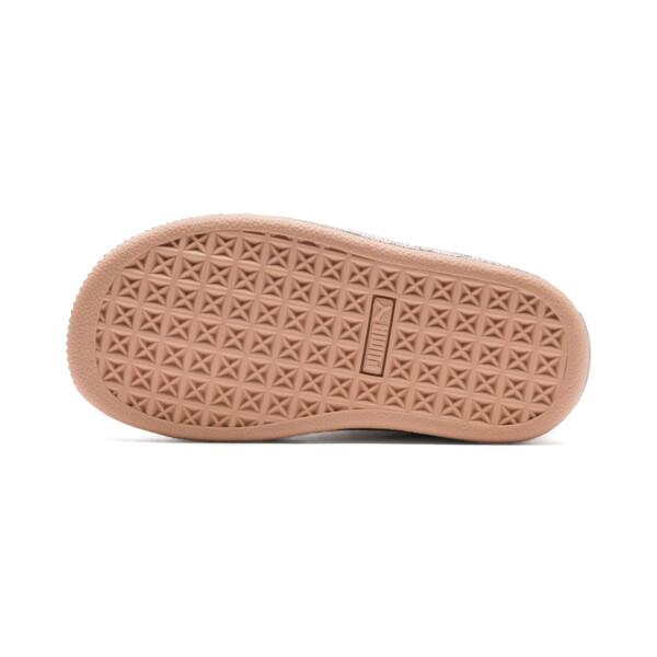 Zapatillas de niño Suede Classic X Chains, Dusty Coral-Rose Gold, grande