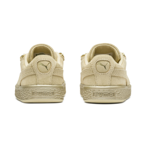 Suede Classic X-Chain Infant Sneakers, 02, large