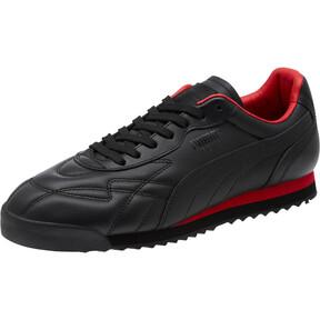 Thumbnail 1 of Roma Anniversario Sneakers, Puma Black-High Risk Red, medium