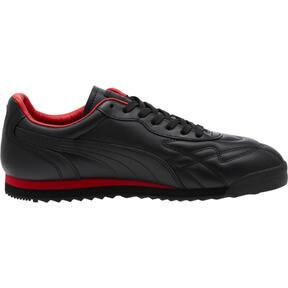 Thumbnail 3 of Roma Anniversario Sneakers, Puma Black-High Risk Red, medium