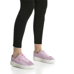 Thumbnail 7 of Suede Platform Street 2 Women's Sneakers, Winsome Orchid, medium