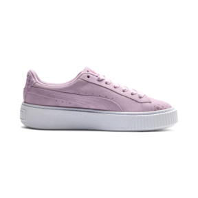 Thumbnail 5 of Suede Platform Street 2 Women's Sneakers, Winsome Orchid, medium