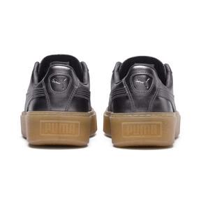 Thumbnail 4 of Basket Platform Luxe Women's Sneakers, QUIET SHADE-QUIET SHADE, medium